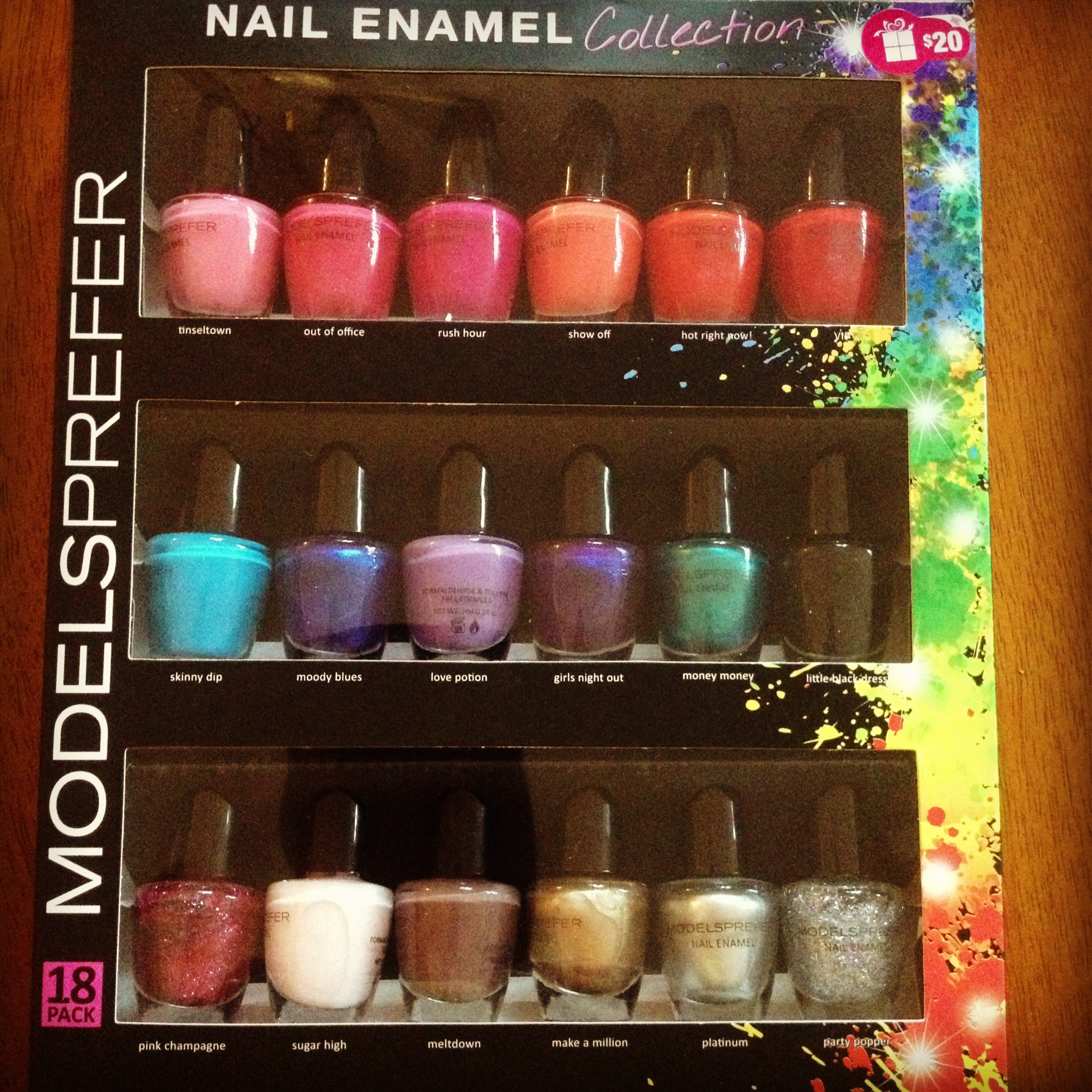 Nail varnish box sets